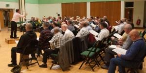 Ipswich Choral Society rehearsal