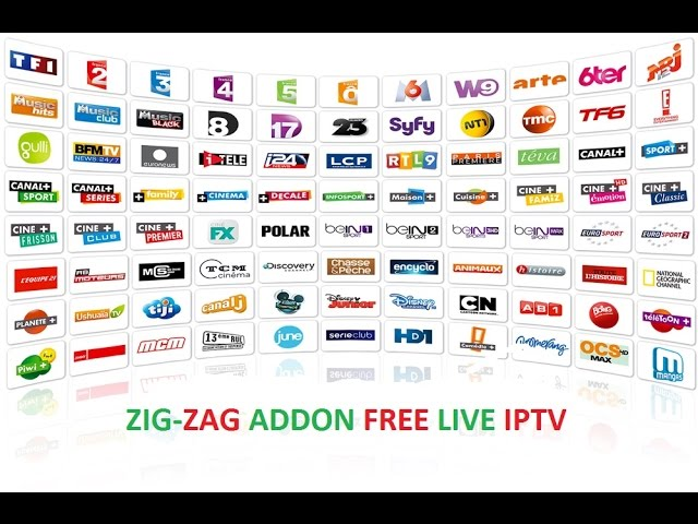 Install Zig-Zag Tv For Free Uk And US IPTV Channels On Kodi