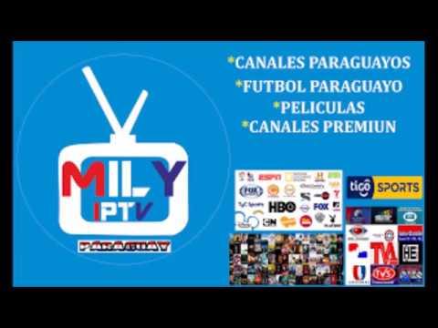 MILY IPTV ADDON DE KODI CON CANALES Y FUTBOL PARAGUAYO
