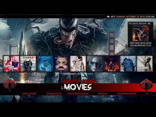 THE MOST COMPLETE BUILD WITH TOP KODI ADDONS – OCTOBER 2018
