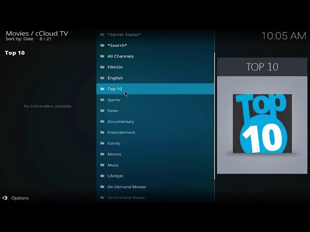 Exodus 8 and ccloud iptv addon for all kodi devices 2018
