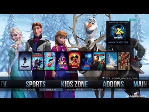 THE NEW KODI BUILD FOR KRYPTON 17.6  –  MARCH  2019  –