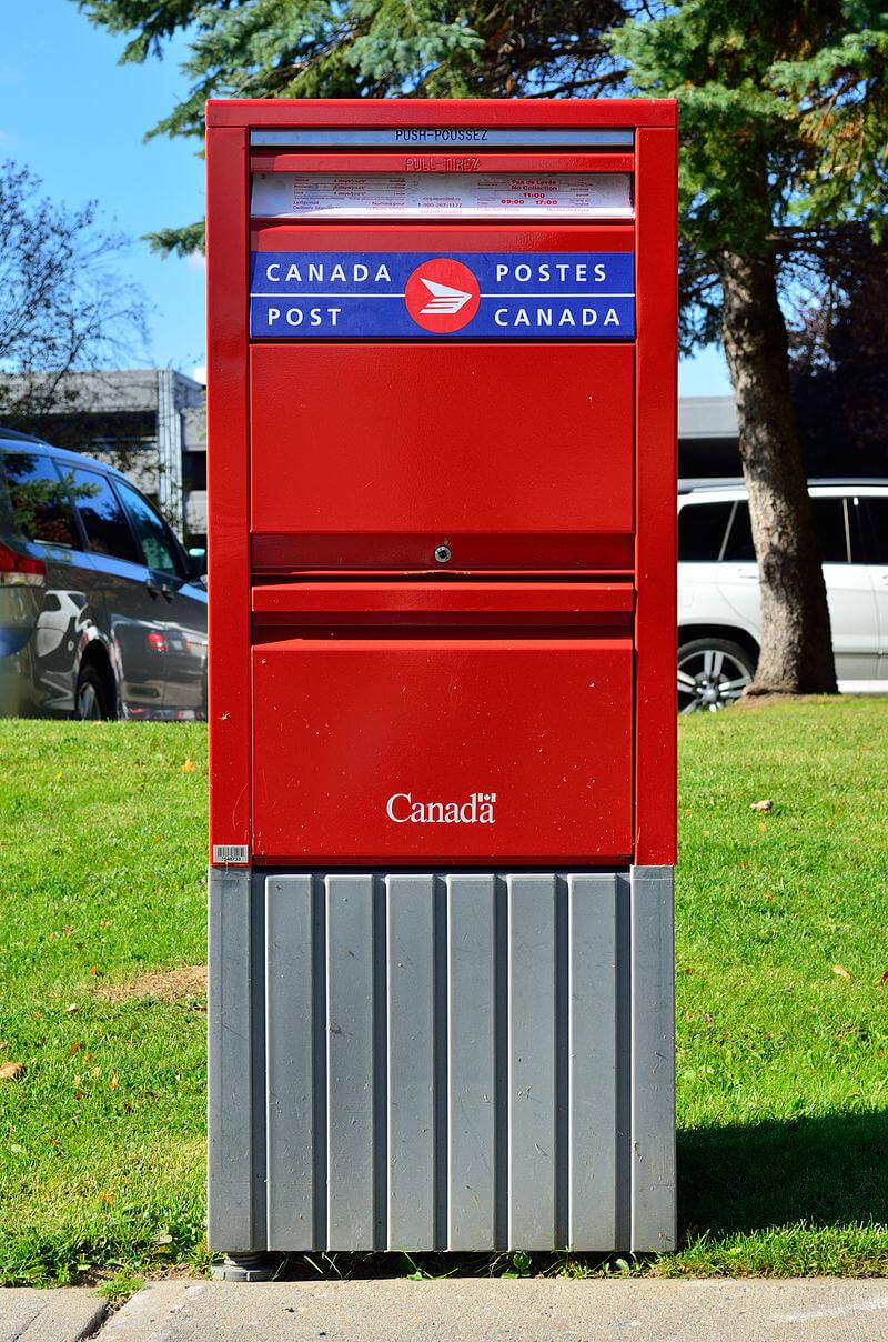 Livraison Par Poste Canada