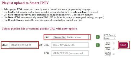 IPTV for LG Smart TV