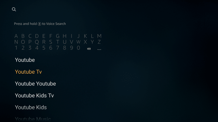 How to install YouTube TV on Firestick