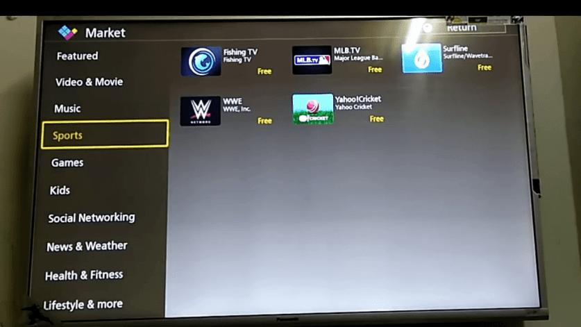 IPTV on Panasonic Smart TV