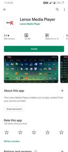 Lenox Media Player
