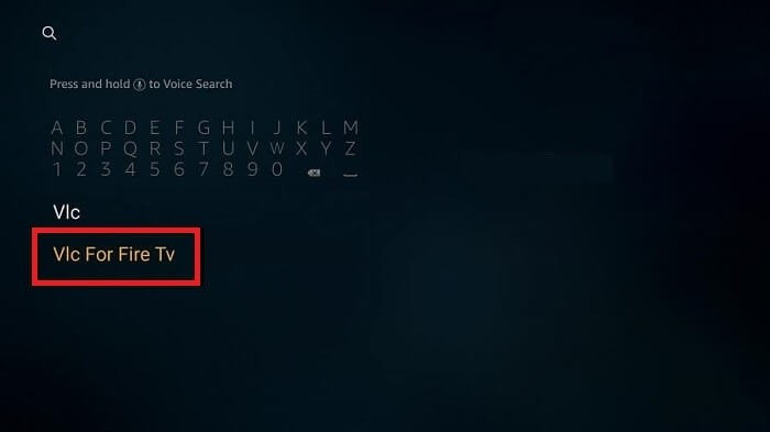 VLC for fire tv