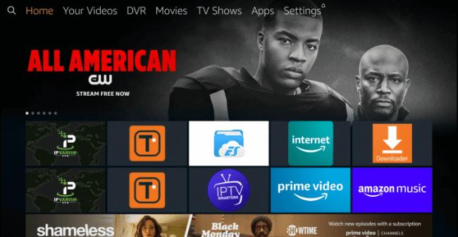 Search Fire TV - Mediastar IPTV Pro
