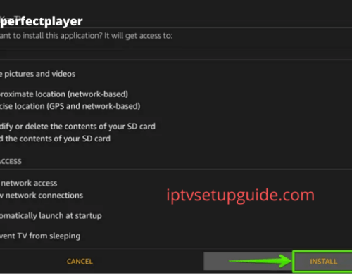 How to download Perfect Player on Firestick