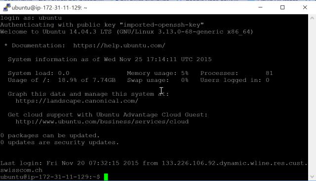 Installing RStudio Shiny Server on AWS