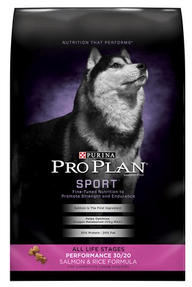 Purina Pro Sport Performance Salmon and Rice for Whippets