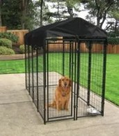 Protective cover to keep pets dry during rain or snow events.