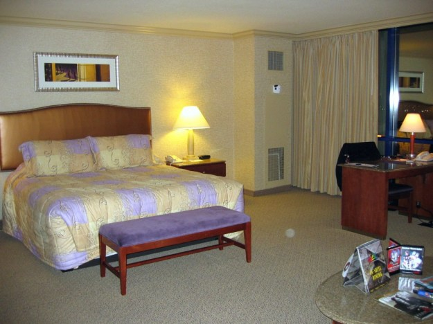 Rio, Las Vegas. Room 471 in the Ipanema tower