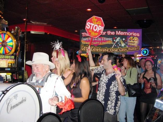 Westward Ho, Las Vegas - closing night November 25, 2005 - dancing on out 1