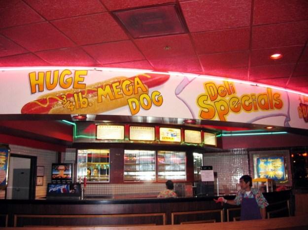 Westward Ho, Las Vegas - closing night November 25, 2005 - Deli Closed