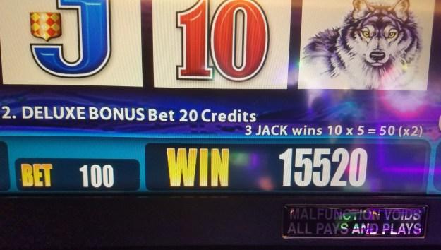 Buffalo 15520 win