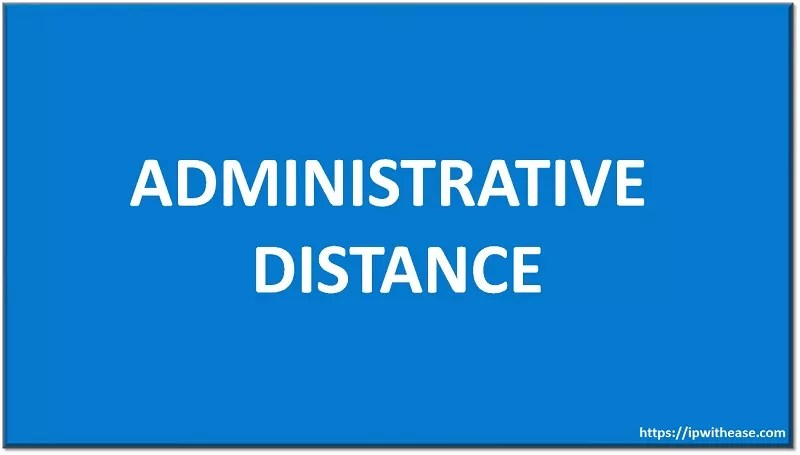 Administrative Distance