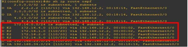 OSPF EXTERNAL ROUTE SUMMARIZATION NOT HAPPENING