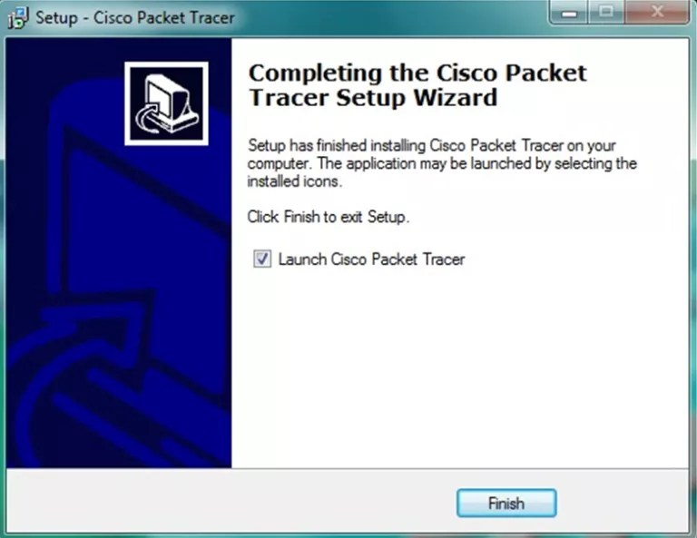 how to install packet tracer on windows