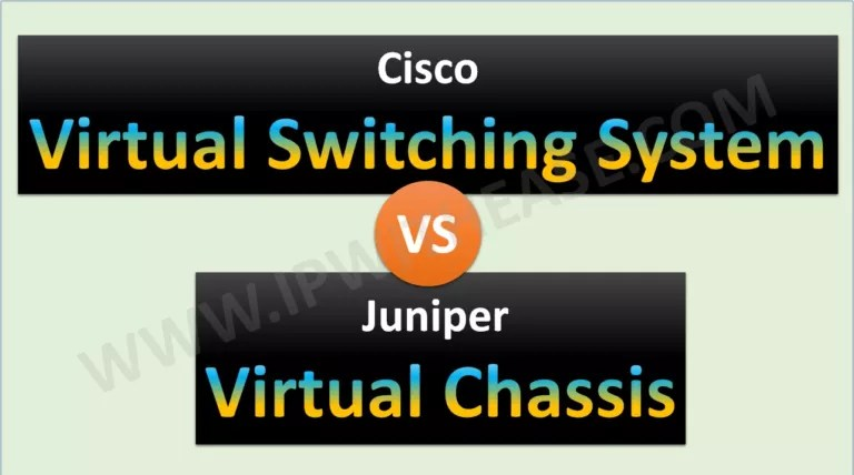cisco vss vs juniper vc