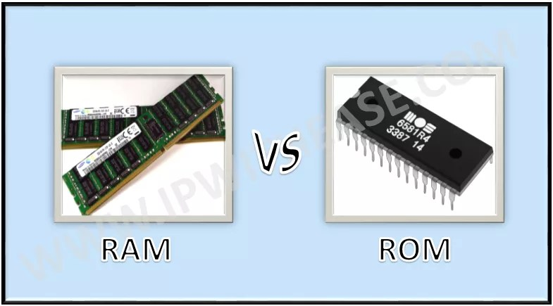RAM VS ROM - Download Detailed Comparison Table - IP With Ease