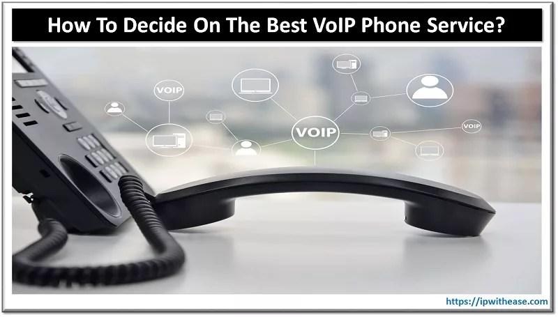 best voip phone service