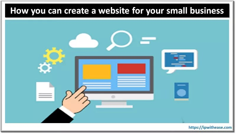 create a website for your small business