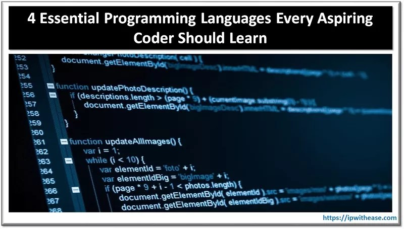 Programming Languages Every Aspiring Coder Should Learn