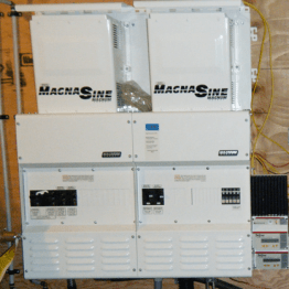 2 Inverter system Magnum Energy installation by IPS Integrated Power Systems of Kelowna BC