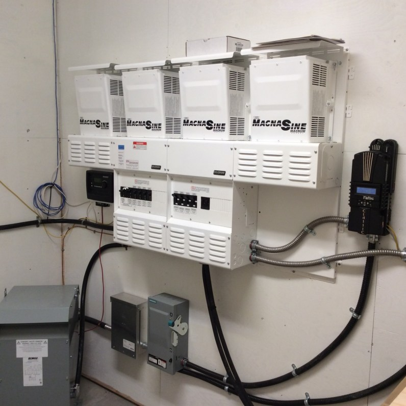 quad inverter system Magnum Energy systems installed by IPS Integrated Power Systems