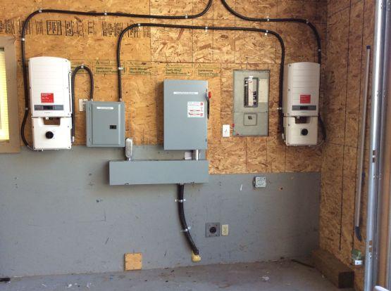 2 Solar Edge7.6 kilowatt Inverters