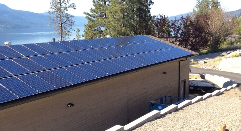 MCKINLEY LANDING BC 2016: Magnum Grid-Tie Systems utilizing Sixty 250 watt Solar Panels & two 7.6 kilowatt inverters