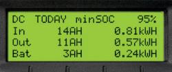 History Summary Screen