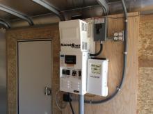 solar trailer power panel
