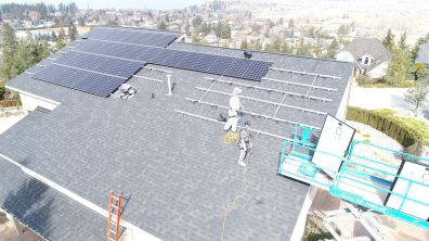 solar edge grid tie installation