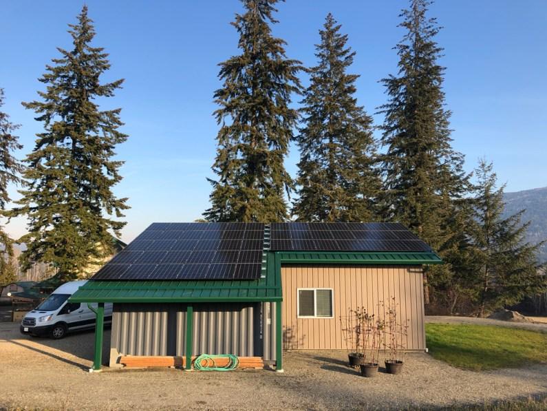 Metal Roof SolarEdge Grid-Tie