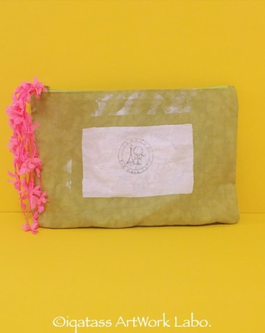 Fabric Art:Nylon Pouch