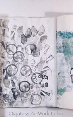 Art Journal【Optical Illusion2017】PAGE 010