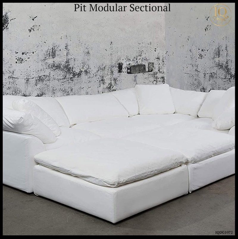 11 modular pit sectionals that will