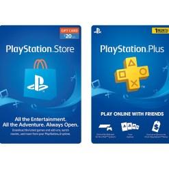 PSN Gift Cards/PSP Memberships
