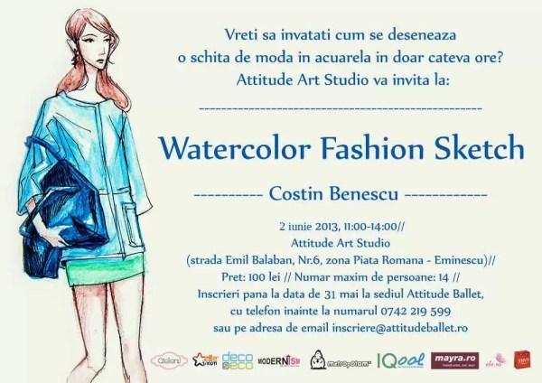 Poster_WatercolorFashionScketch