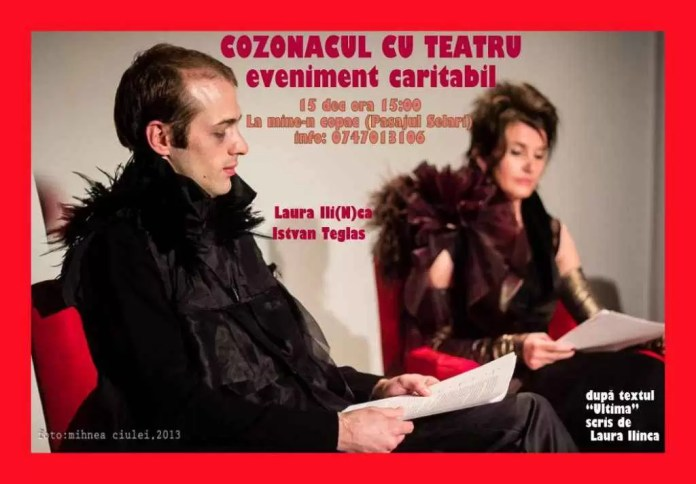 IStvanTeglas si Laura Ilinca-Cozonacul cu teatru