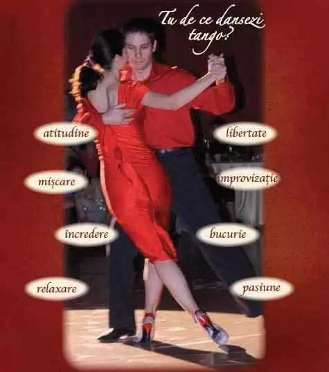 De ce dansezi tango