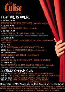 Program In Culise 23-29 Mai