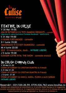 Program In Culise 30 Mai - 5 Iunie