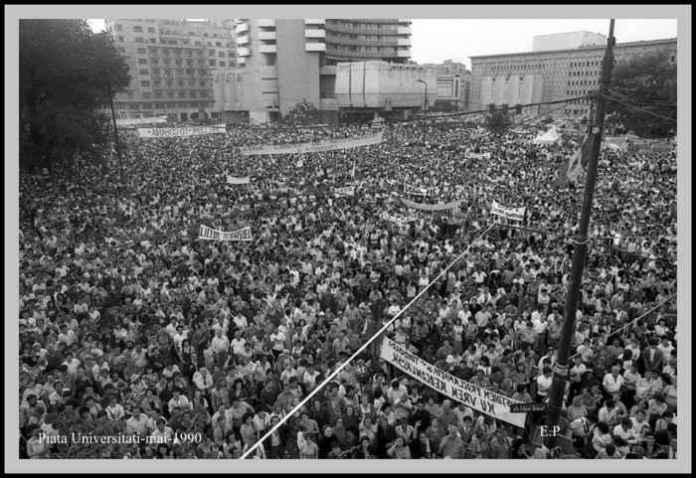 Piata-Universitatii-mai-1990-Foto-Emanuel-Parvu