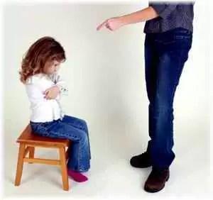pedeapsa copii