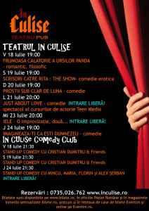 Program In Culise 18 - 24 Iulie