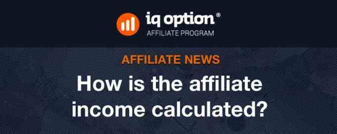 How is affiliates income calculated